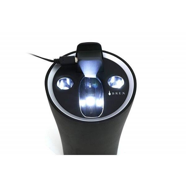 ブレックス イー スモーク ホルダー for アイコス アイコス灰皿 アイコス充電 イルミネーション drive 04