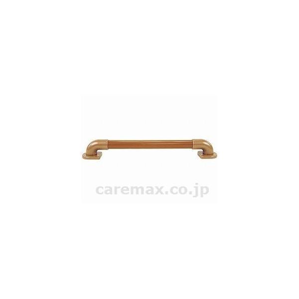 (R0220)φ32エラスト手すり(カバー付)180cm/3034チーク(cm-221912)[1本]