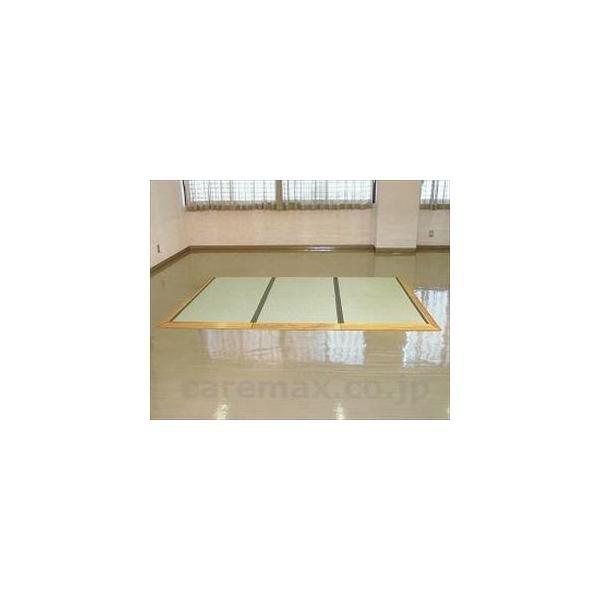 (O0368)ユニットたたみさわやか四畳半全面スロープ付/T-TS45-4純木仕様(cm-268142)[1セット]