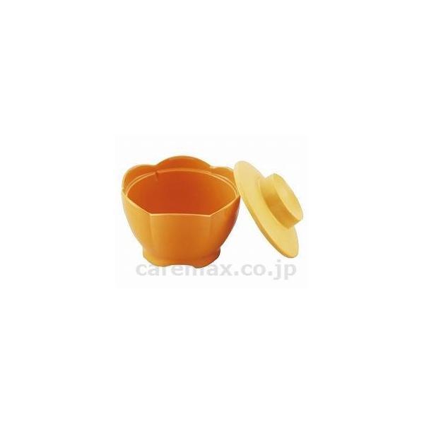 ほっと倶楽部花小鉢蓋/ONPF-10PPOパパイヤオレンジ(cm-300509)[1個]
