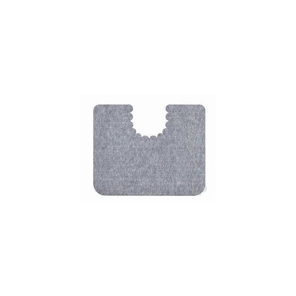 【※法人・施設限定・送料別途】(T0834)床汚れ防止マット5枚組/KH-16グレー(cm-321814)[1セット]