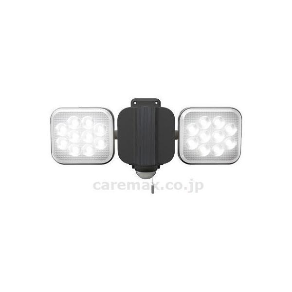 【※取り寄せ・送料別途】フリーアーム式LEDセンサーライト/LED-AC202412W×2灯(cm-388356)[1台]