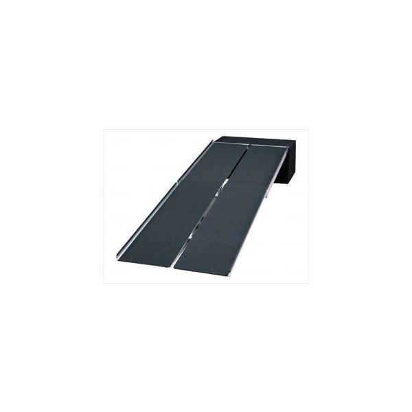 【※送料別途】【※法人・施設限定】ポータブルスロープ アルミ4折式タイプ/-/300 PVW300 イーストアイ(wf-002775-3)