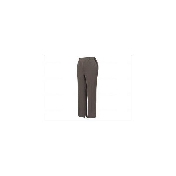 ファスナー付パンツ 婦人/ブラウン/L CH050710C06 カインドウェア(wf-354110-6)