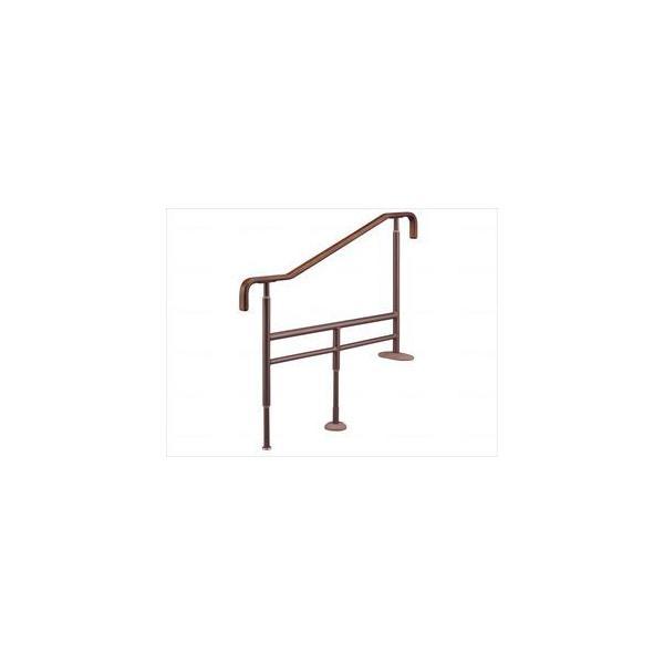 上がりかまち用手すりSM-1100/ブラウン/L 531072 アロン化成(wf-401275-4)