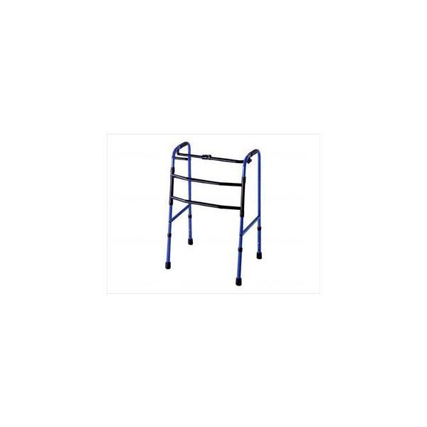 折りたたみ式交互歩行器/シーグリーン/- C2023-GR シーグリーン(-)アクションジャパン(wf-663012-2)