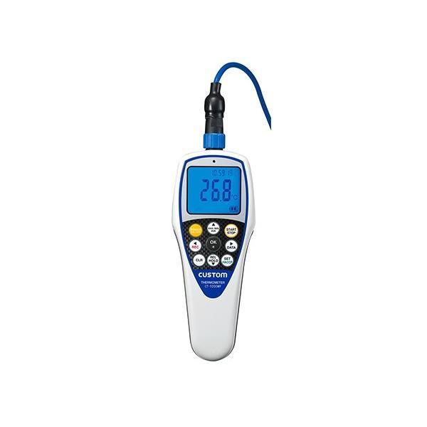 カスタム1-6785-12防水型デジタル温度計CT-5200WPタイマー機能付【個】(as1-1-6785-12)