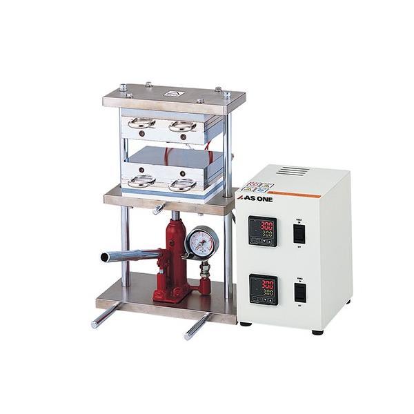 アズワン2-8157-11小型熱プレス機(冷却機能付き)0〜1t【個】(as1-2-8157-11)