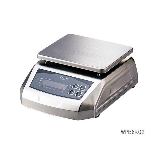 アズワン3-6685-01防塵防水電子天秤(IP68規格準拠)3000g【個】(as1-3-6685-01)