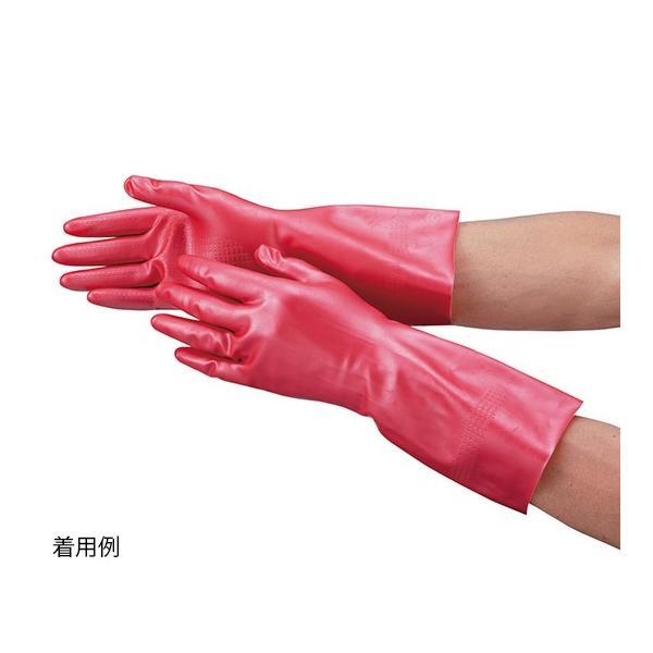 3-8083-01 天然ゴム手袋 (ワークサヤン) S ピンク 【1双】(as1-3-8083-01)