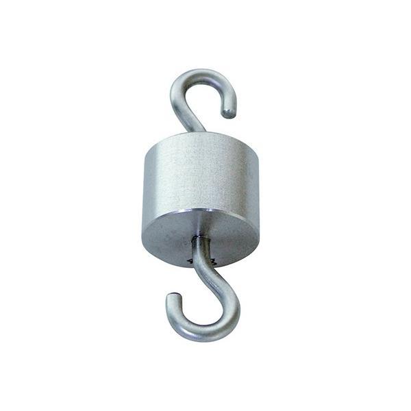3-8488-01 特殊分銅 円筒型上下フック付 20kg 【1個】(as1-3-8488-01)