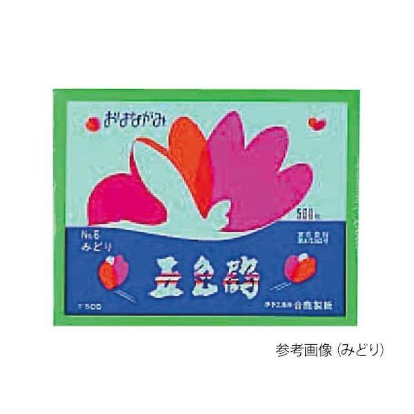 7-6047-16 お花紙(五色鶴) みずいろ GT500-16【1冊(500枚入)】(as1-7-6047-16)