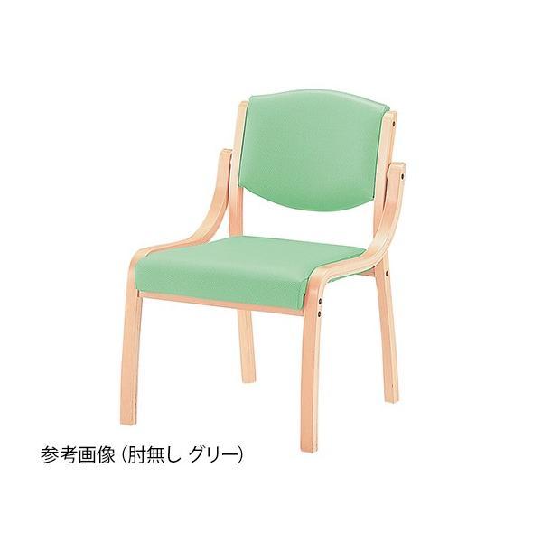 8-1994-05 椅子 ホープ 肘無し グリーン HPE-110-V