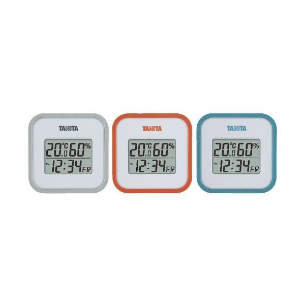 デジタル温湿度計 TT-558(オレンジ) デジタルオンシツドケイ(24-3897-01)【1個単位】
