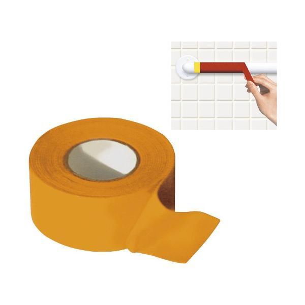 手摺り用滑り止めテープ(赤) テスリヨウスベリドメテープ 000-10-001(25MMX2M)(24-4931-00)【1個単位】