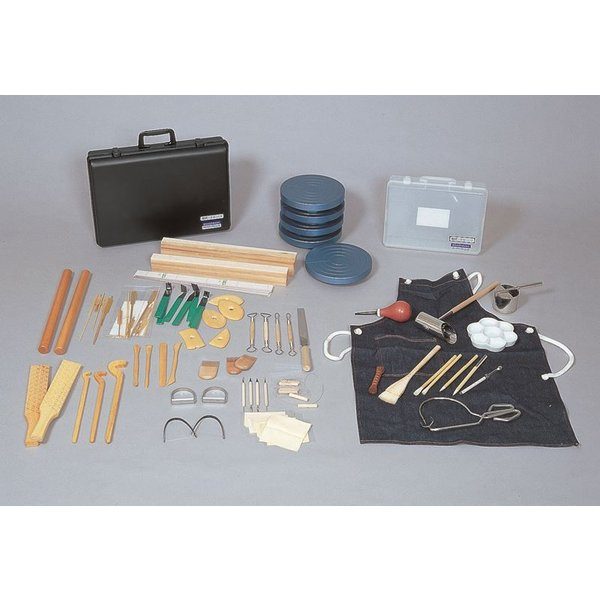 陶芸器具セット  Clay Ceramic Craft Set SNZ-1305(sa6130086)