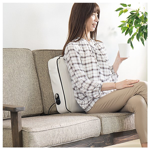 マッサージ器 セシル 肩こりや腰痛に本格もみ玉式 マッサージ機|drsango|02