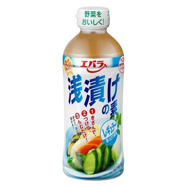 エバラ食品工業株式会社 エバラ 浅漬けの素レギュラー 500ml×12個セット 【■■】