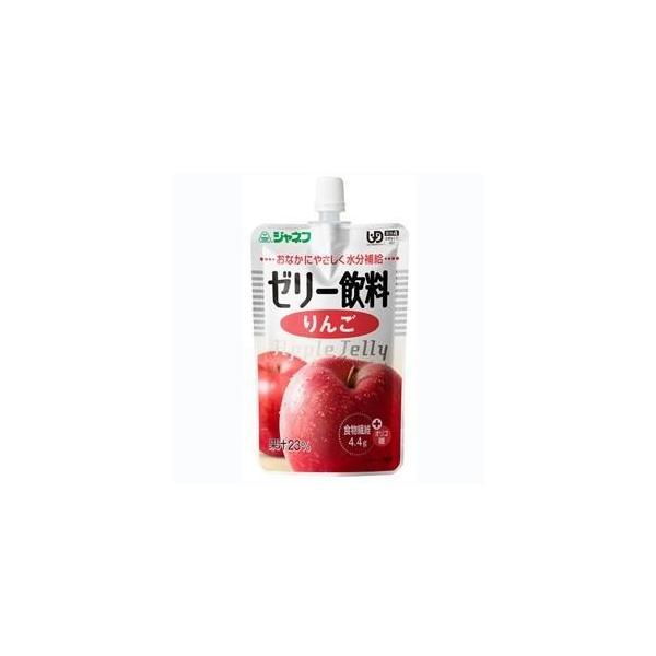 【J】キユーピー株式会社 ジャネフ やさしい献立 かまなくてよい K417 ゼリー飲料 りんご 100g 【JAPITALFOODS】【北海道・沖縄は別途送料必要】