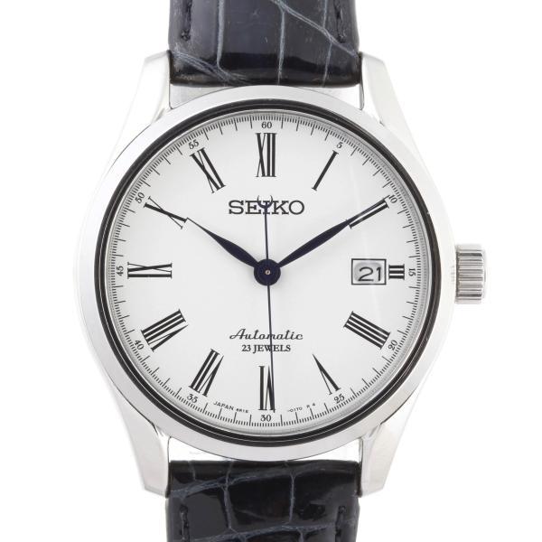 SEIKO セイコー プレサージュ SARX019 (6R15-02P0) 腕時計 ステンレススチール ホワイト 文字盤 メンズ 中古 (飯能本店)/DH47583