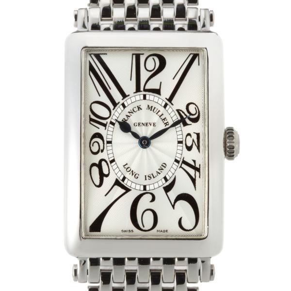 online store eea8a f4feb FRANCK MULLER フランクミュラー ロングアイランド 952QZ 腕時計 ステンレススチール シルバー アラビアン 文字盤 ...