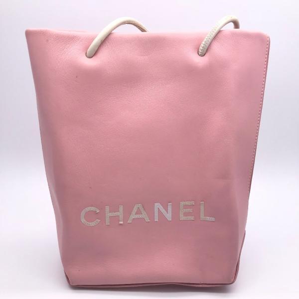 CHANEL シャネル エッセンシャル トートPM A46880 トートバッグ カーフ ピンク レディース  (飯能本店)/DH49569