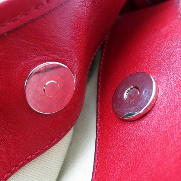 Valentino ヴァレンチノ 肩掛け トート 2WAY トートバッグ レザー レッド レディース 中古 (飯能本店)/DH49802