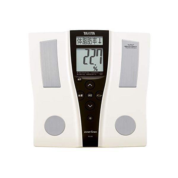タニタ体組成計インナースキャンパールホワイトBC-250体重計体脂肪計内臓脂肪デジタル基礎代謝