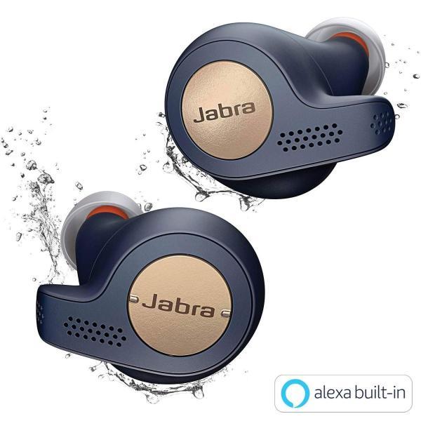 Jabra Elite Active 65t コッパーブルー 北欧デザイン Alexa対応完全ワイヤレスイヤホン BT5.0 マイク付 防塵防水IP56 2台同時接続 2年保証 【国内正規品】|dsky