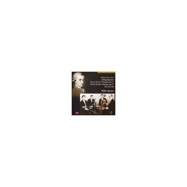 ヴェラー弦楽四重奏団 / モーツァルト: 弦楽四重奏曲第21番・第23番・第3番 [CD]