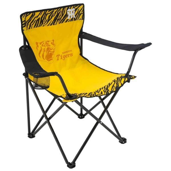 阪神 タイガース アウトドア チェア 椅子 阪神タイガース ラウンジチェア HTCH−8751|dstyleshop