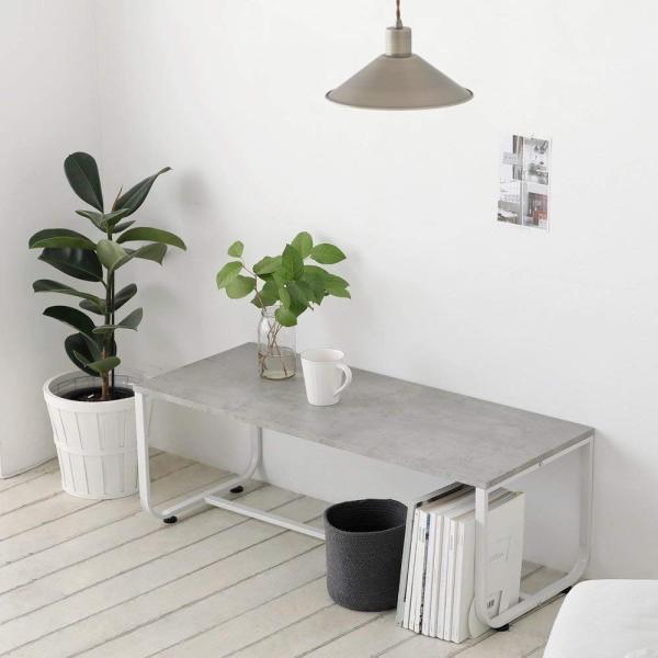テーブル ローテーブル シンプル おしゃれ ルームアンドホーム スカンテーブル1000 100 X 40 X 35cm|dstyleshop|09