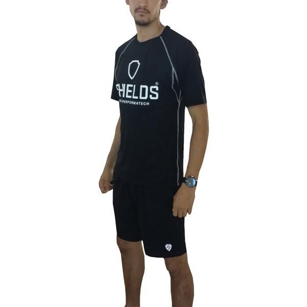 シールズ Tシャツ ソフトストレッチ 吸汗速乾 UVカット GP-6018 ブラック|dstyleshop|04