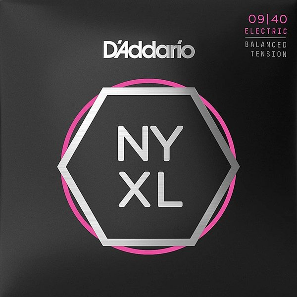 D'Addario NYXL0940BT Balanced Tension Super Light 009-040 ダダリオ エレキギター弦