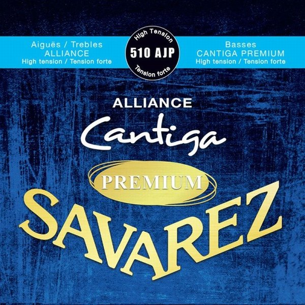 Savarez510AJPALLIANCE/CANTIGAPREMIUMSetHighTensionサバレスクラシック弦