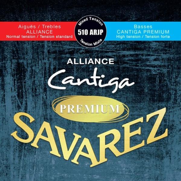 Savarez510ARJPALLIANCE/CANTIGAPREMIUMSetMixedTensionサバレスクラシック弦