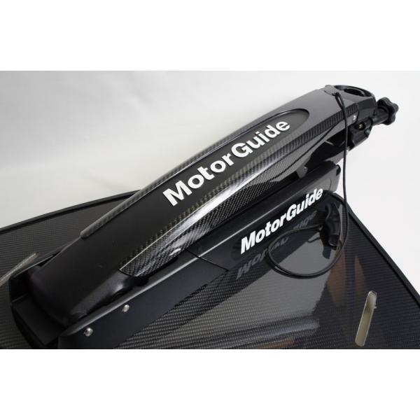 モーターガイド ゲーターフレックス360 マウント用カーボンジャケット ducacraft 03