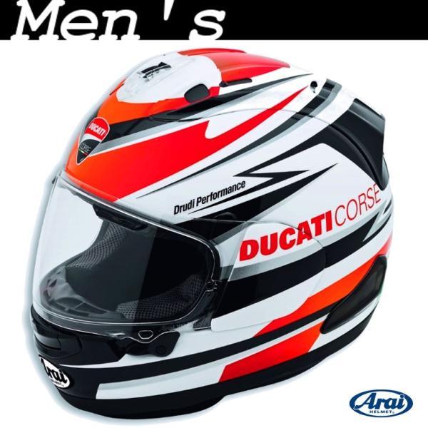 ★Ducati Corse Speed フルフェイスヘルメット サイズM (with Arai)|ducatiosakawest