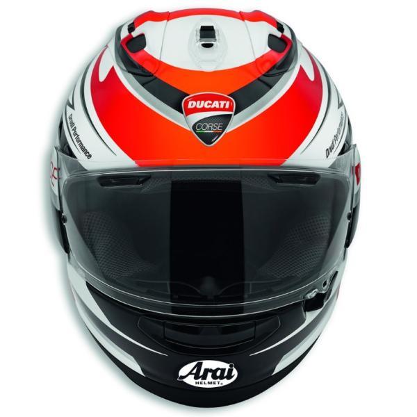 ★Ducati Corse Speed フルフェイスヘルメット サイズM (with Arai)|ducatiosakawest|02