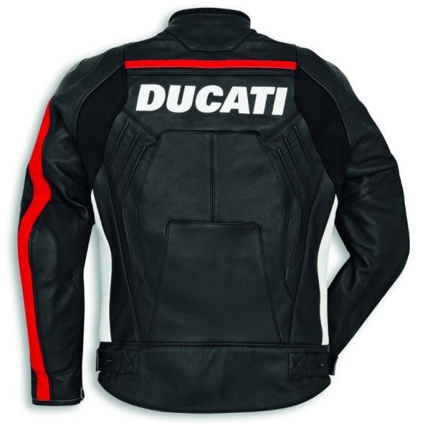 ★2019MODEL★Ducati Corse C4 レザージャケット 黒/白 標準仕様 サイズ50 (with DAINESE)|ducatiosakawest|02