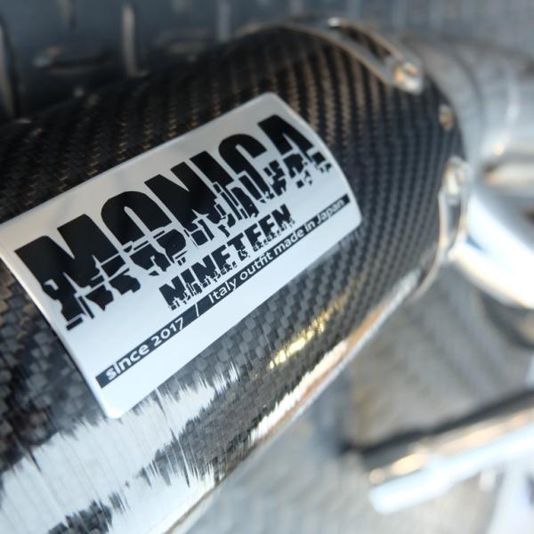 ★MONICA NINETEEN Sixty2用 車検適合JMCAサイレンサー(カーボンタイプ)|ducatiosakawest|02