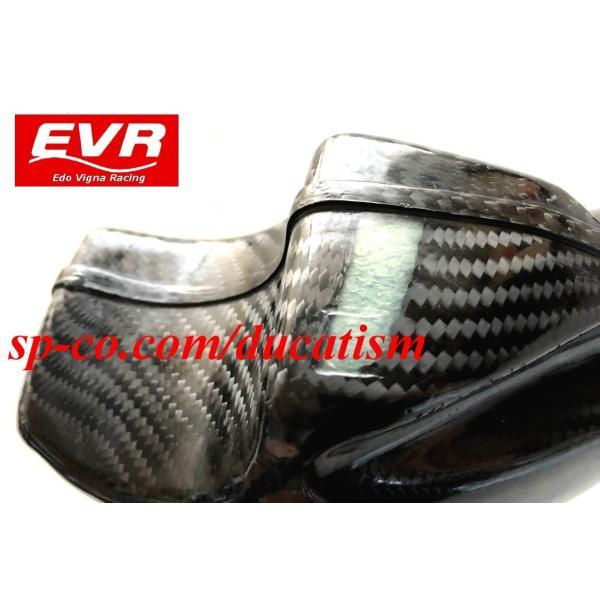 EVR DUCATI 916/996/998用カーボンウォータータンク イタリア製ドライカーボンVer.2 996R/998R/748R|ducatism|09