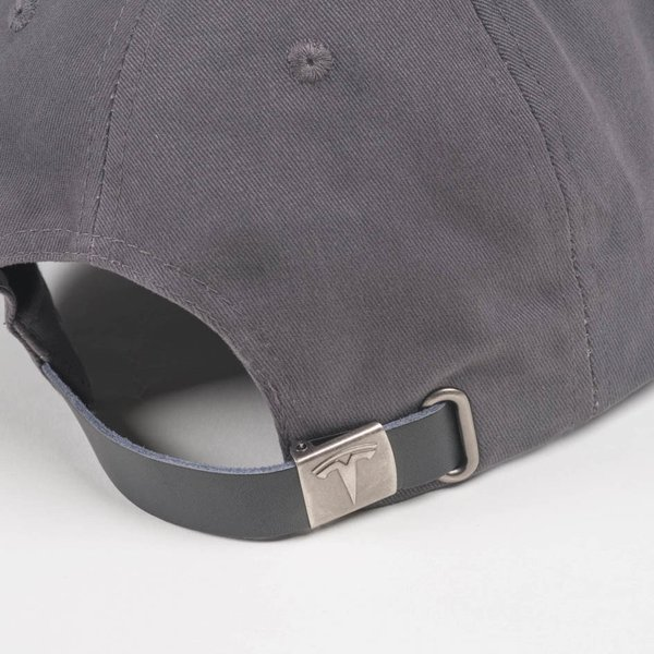 TESLA Leather Trim Hat テスラ純正 レザートリムハット (Model S/Model X) キャップCap 帽子|ducatism|04