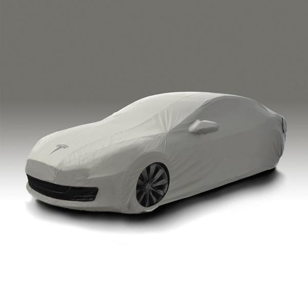 テスラ モデルS ボディカバー アウトドア用 TESLA MODEL S Outdoor Car Cover テスラモーターズ純正|ducatism|03