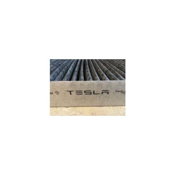 TESLA  MODEL S  テスラ モデルS 用 カーボン キャビンフィルター 純正エアコンフィルター(2012-2015)|ducatism|02