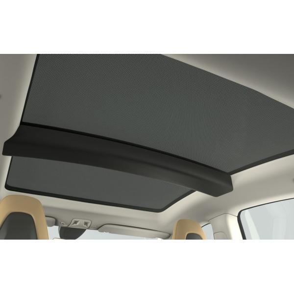 TESLA Model S Panoramic Roof Sunshades テスラ 純正 モデルS 専用 パノラミックルーフ サンシェード 前後2枚 ducatism