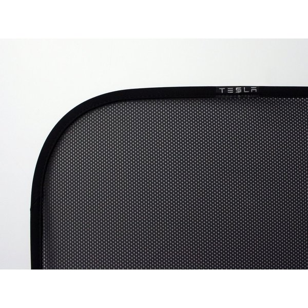 TESLA Model S Panoramic Roof Sunshades テスラ 純正 モデルS 専用 パノラミックルーフ サンシェード 前後2枚 ducatism 03