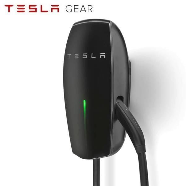 テスラ New グロスブラック ウォールコネクター充電器 7.4mロングケーブル TESLA Gloss Black Wall Connector 24  Model S/Model X/Model3 テスラモーターズ|ducatism
