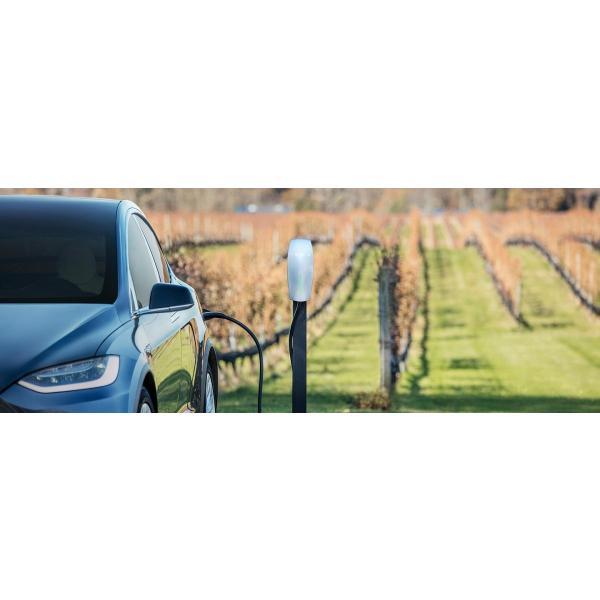 テスラ New グロスブラック ウォールコネクター充電器 7 4mロングケーブル TESLA Gloss Black Wall Connector  24 Model S/Model X/Model3 テスラモーターズ