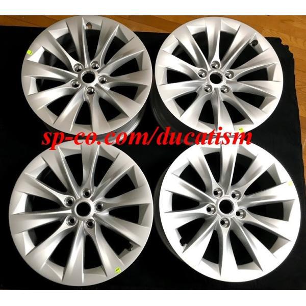 テスラ モデルS  純正19インチ スリップストリーム ホイール 4本set SlipStream Wheel 8Jx19 ducatism 06